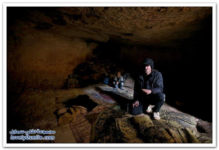 حتى القبور الرومانية أصبحت ملاجئ في سوريا