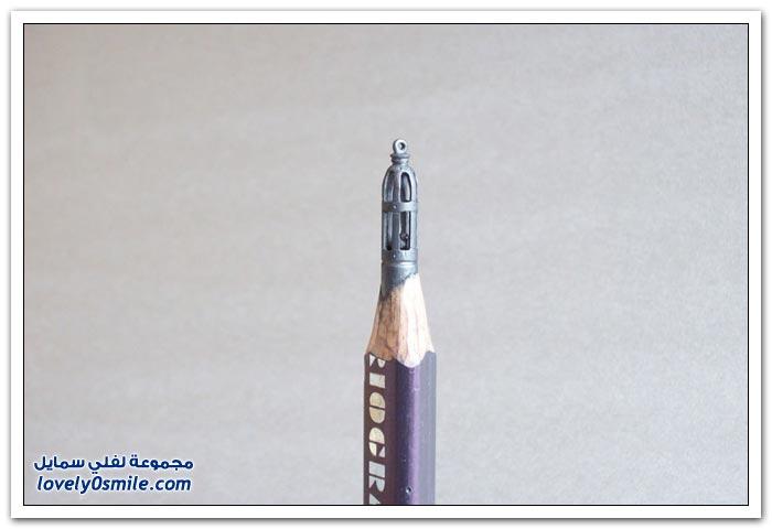 منحوتات رائعة من أقلام الرصاص