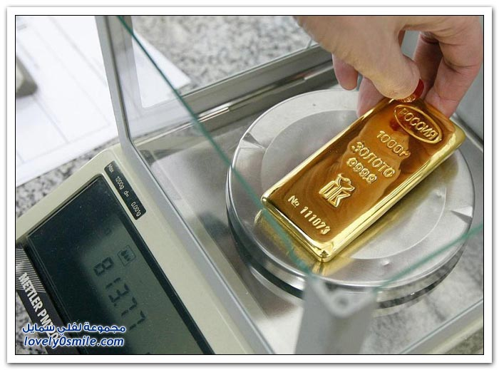 سبائك الذهب في روسيا