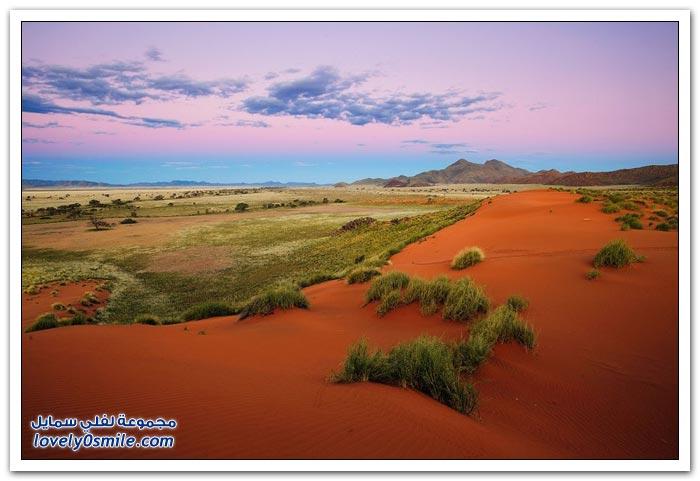 مناظر رائعة للطبيعة في ناميبيا