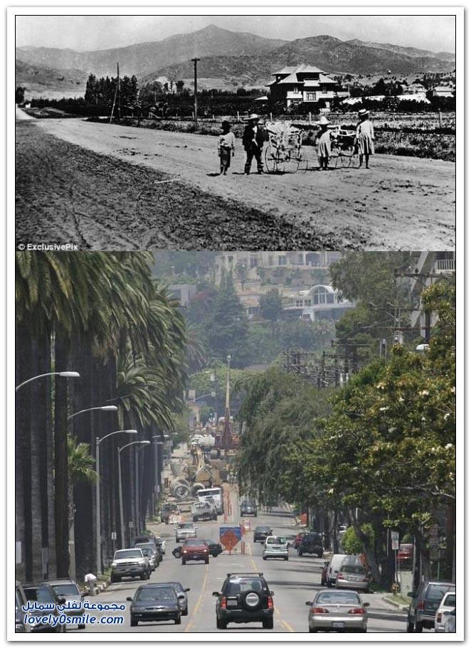هوليوود بين الماضي والحاضر