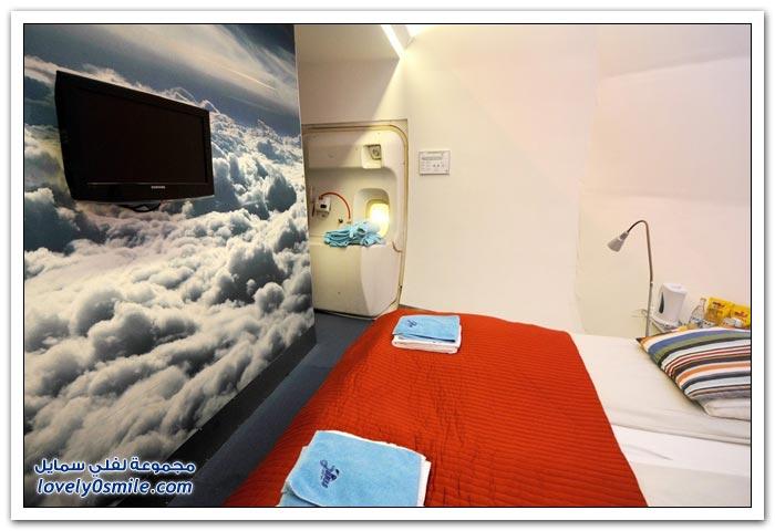 فندق في طائرة من طراز بوينج 747 في ستوكهولم