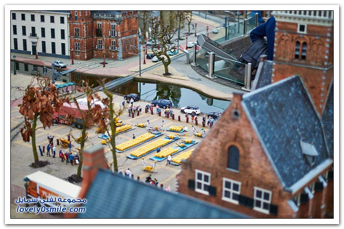 متحف مصغر في لاهاي في هولندا