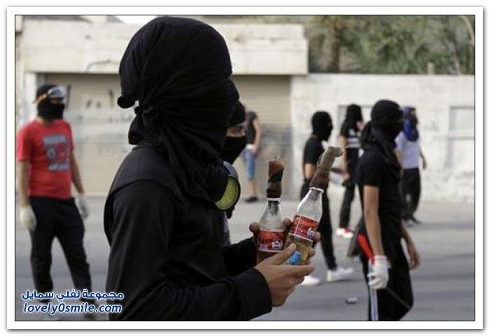 يستاهل ما جاه - قنابل المولوتوف في البحرين