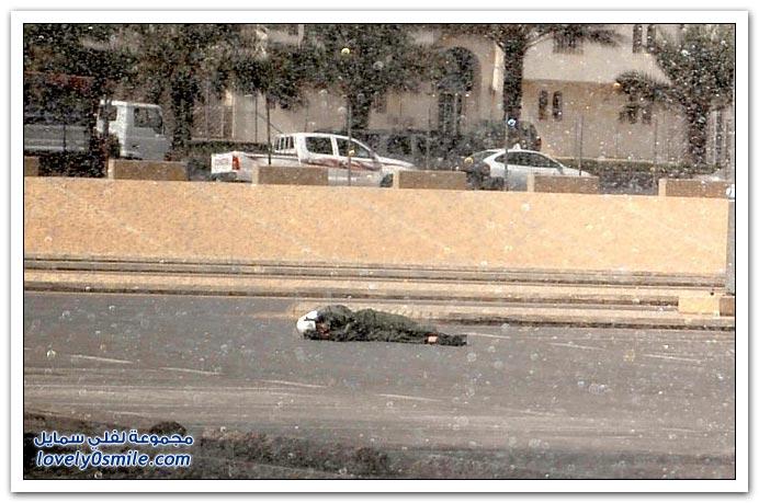 صور وفيديو: سقوط أحد منسوبي الدفاع المدني من طائرة مروحية في الرياض