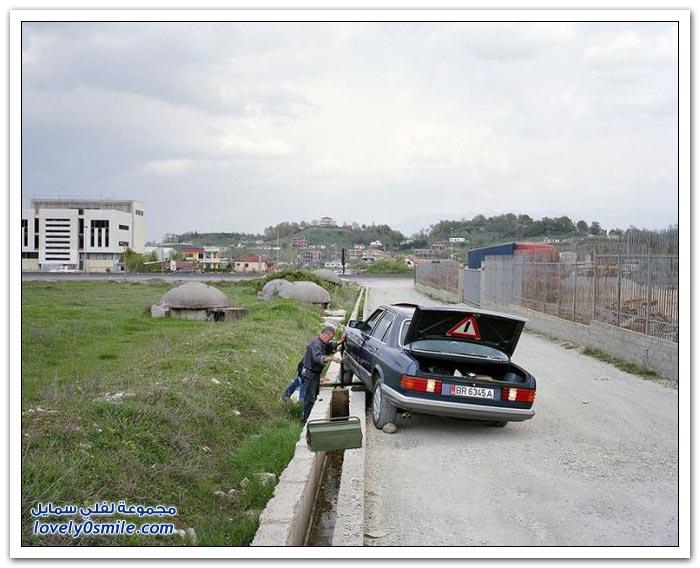 الملاجئ في ألبانيا من أيام الديكتاتور أنور خوجة