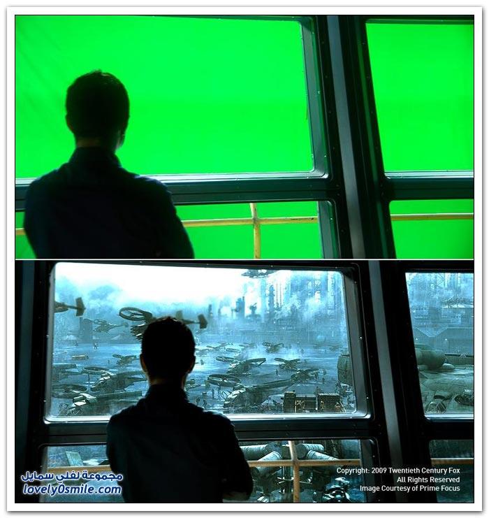 التأثيرات البصرية في الأفلام السينمائية