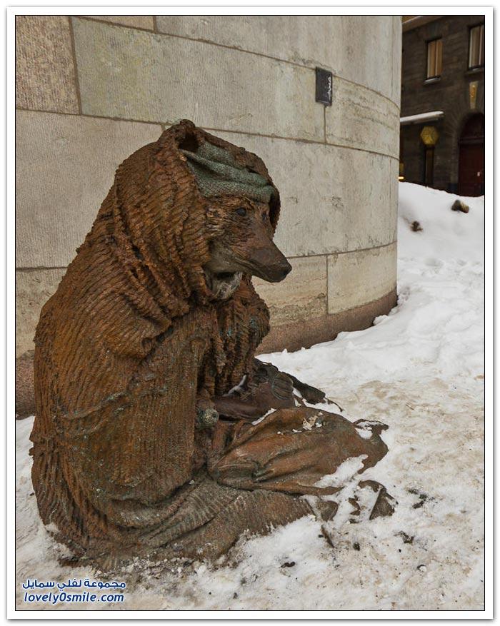 الشتاء في ستوكهولم