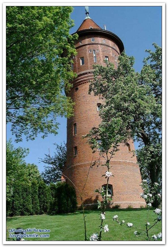 منزل في برج مياه قديمة في ألمانيا