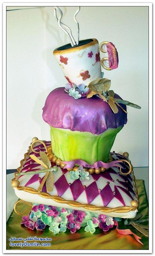 الفن في صناعة الكيك