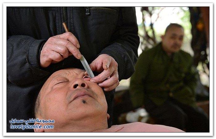 حلاقة رموش العين في الصين