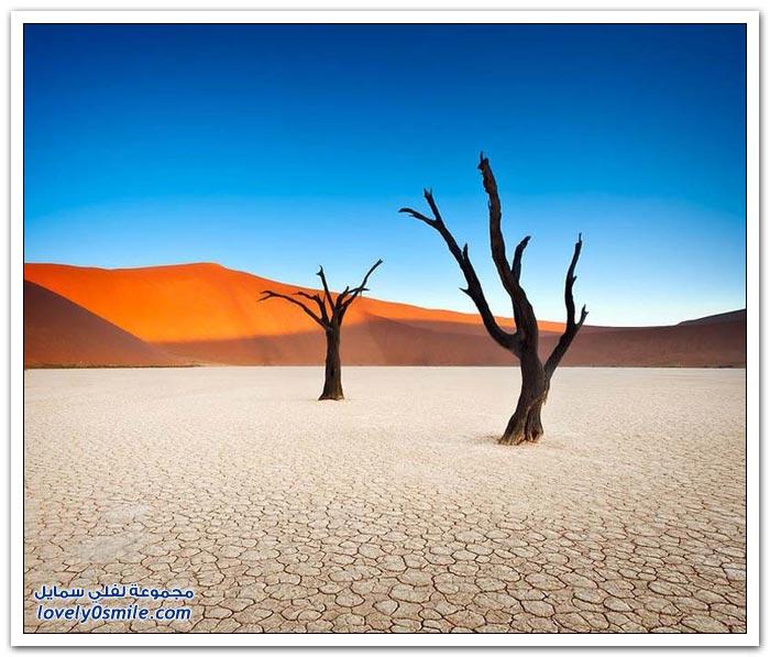 الوادي الميت في ناميبيا