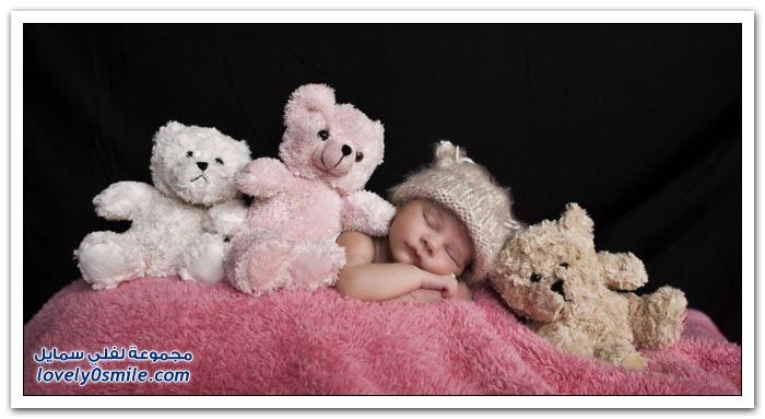 قبعات للمواليد الرضع