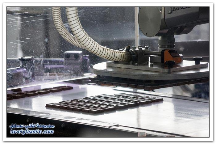 كيفية صناعة الشوكولاته
