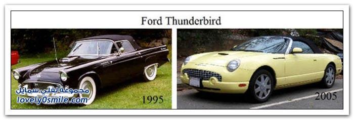 موديلات السيارات كيف كانت وكيف أصبحت