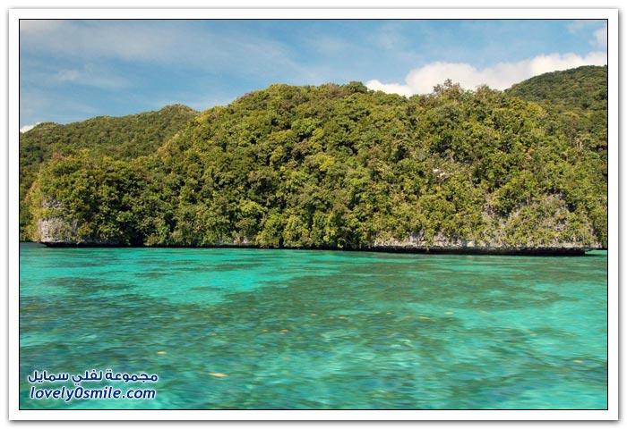 صور لجزر جمهورية بالاو