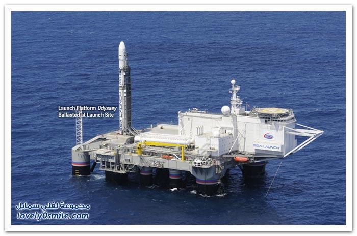 منصة الإطلاق البحرية (Sea Launch)، المحيط الهادئ