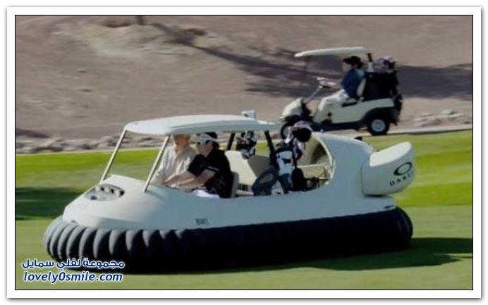عربات الجولف الرائعة
