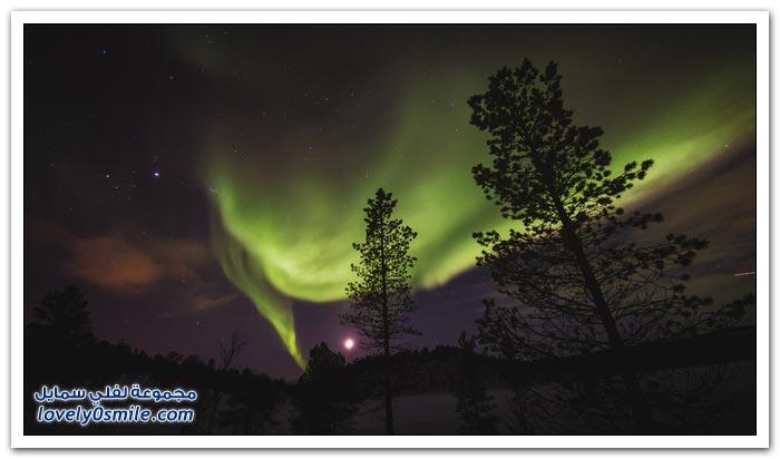 المناظر الطبيعية الرائعة في النرويج
