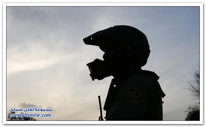 مراقبة الحدود بين أمريكا والمكسيك