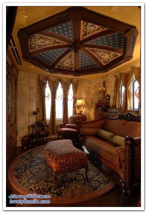 صور من داخل قلعة ديزني