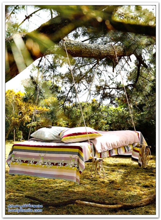 السرير الأرجوحة