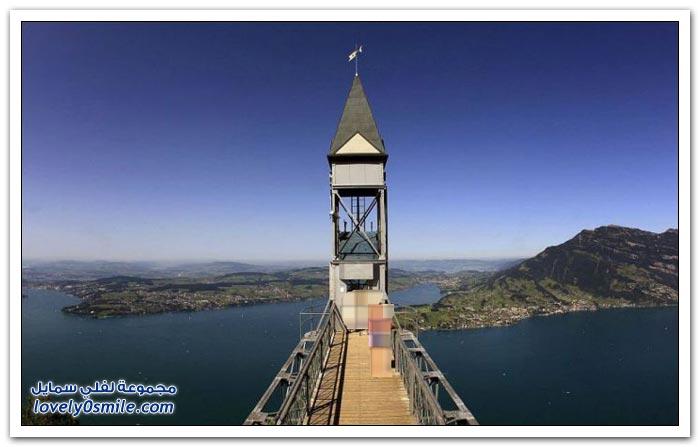 أعلى مصعد خارجي في أوروبا