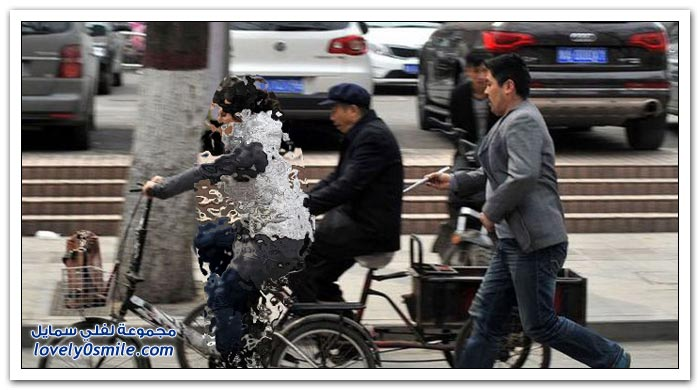 حرامي الشوارع في الصين