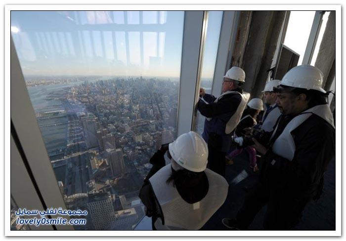 صور من الطابق 100 لبرج التجارة العالمي الجديد في نيويورك