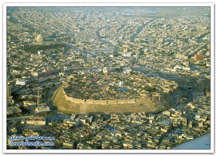 قلعة أربيل في العراق