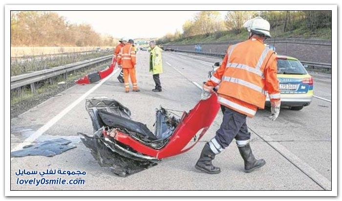 حادث فيراري 430 سكوديريا في ألمانيا