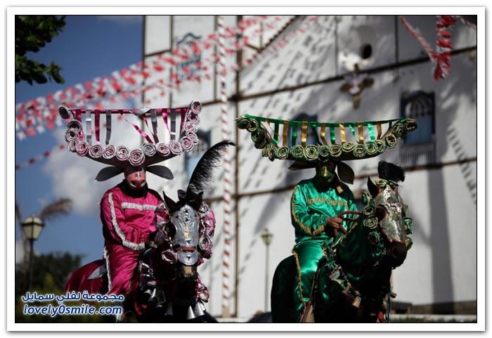 مهرجان Cavalhadas في البرازيل