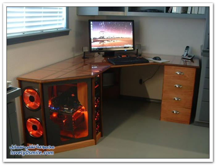 صناعة مكتب رائع في المنزل