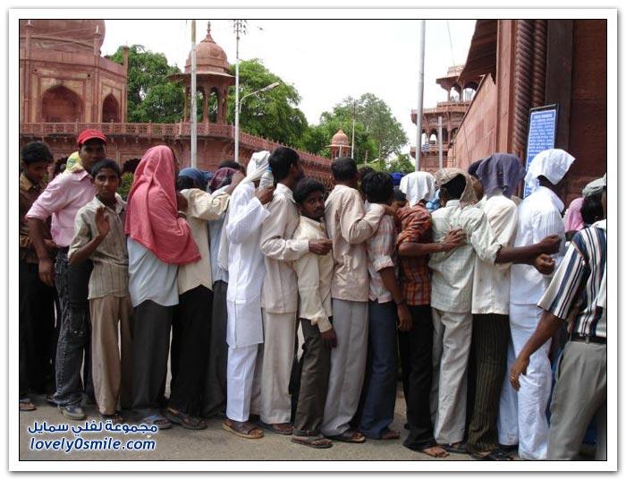 الطوابير في الهند مختلفة عن أي دولة في العالم