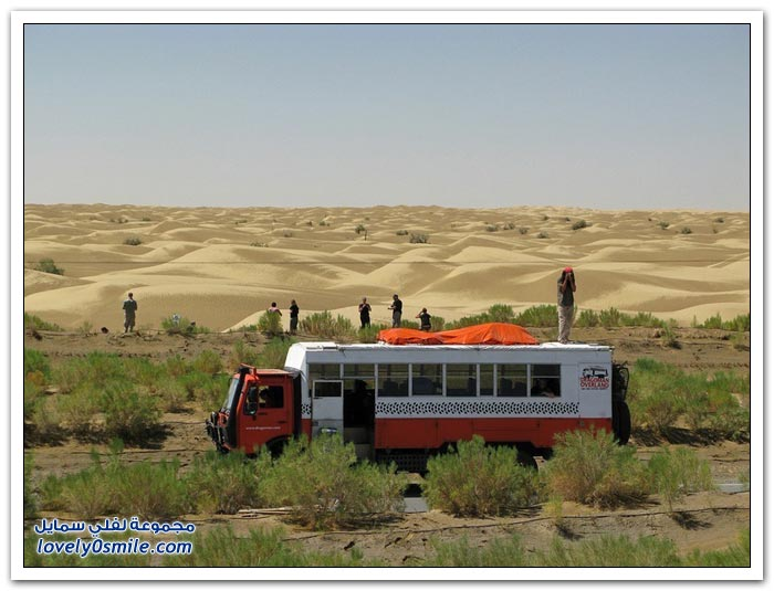 أطول طريق صحراوي في العالم