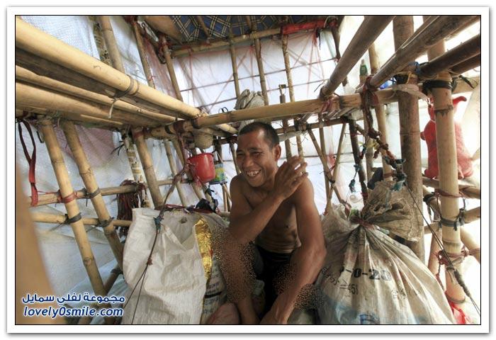 المنازل المحمولة في الصين