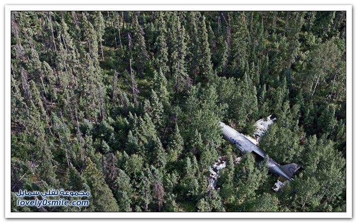 صور لطائرات سقطت ونجا من فيها