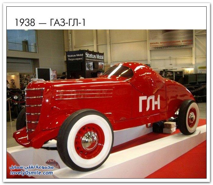 أشكال السيارات الروسية في القرن العشرين