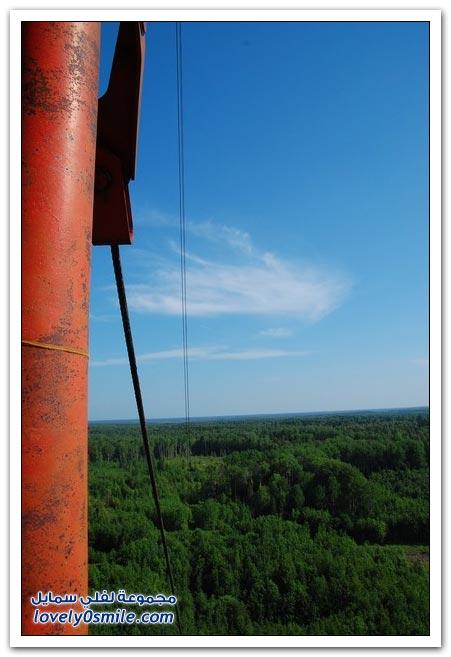 أطول برج اتصالات مهجور في روسيا
