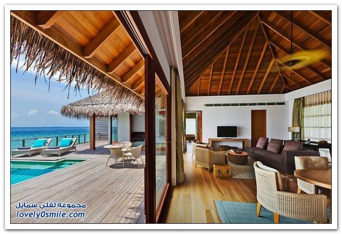 منتجع في جزيرة با أتول في المالديف
