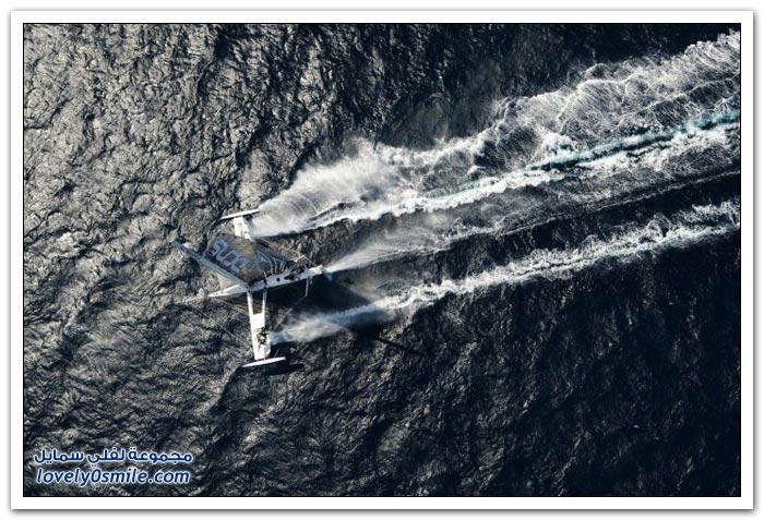 أسرع المراكب الشراعية في العالم