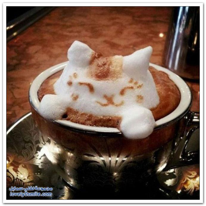 الفن الرائع الذي يضيف الجمال على وجه قهوتك التي تحب