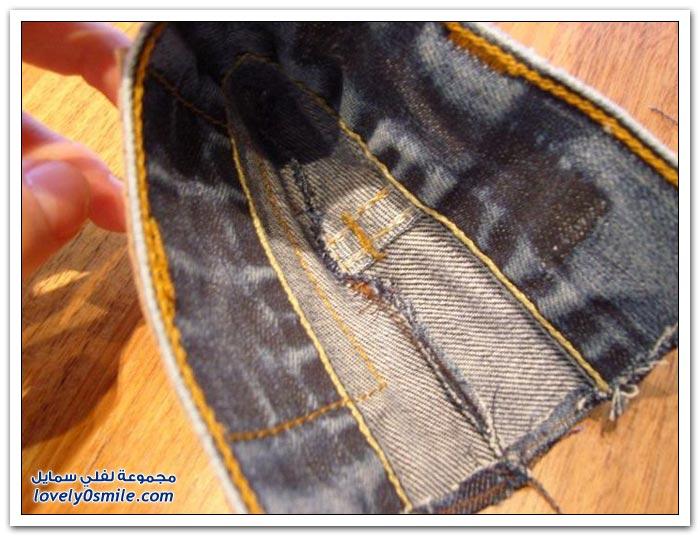 جيب من الجنز للهاتف المحمول