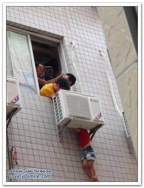 جهاز تكييف ينقذ حياة طفل في الصين