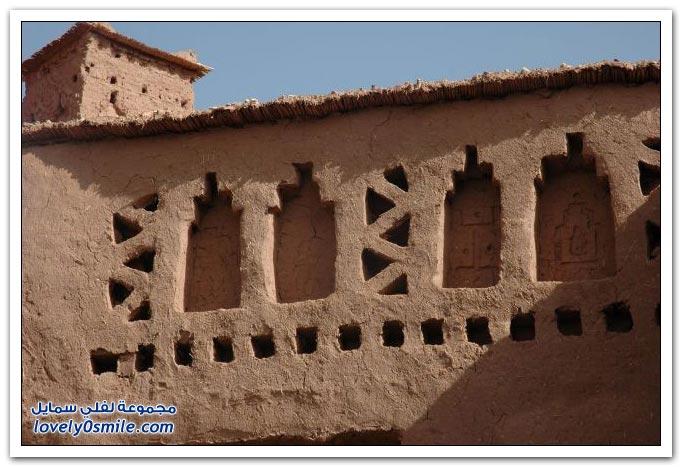 قصر آيت تحفة طينية مغربية صارت وجهة السينما العالمية