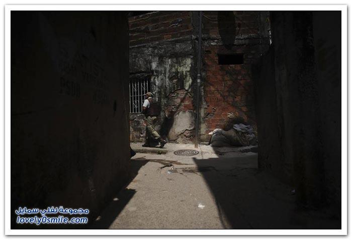 مطاردة العصابات في البرازيل