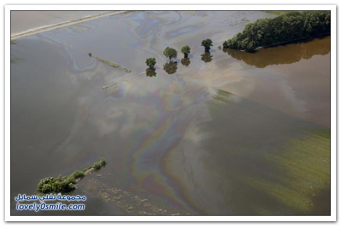 الفيضانات في جميع أنحاء أوروبا الوسطى