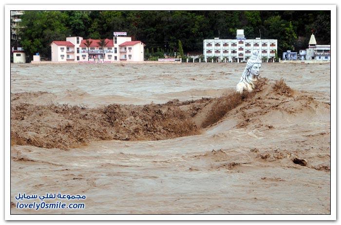 الفيضانات في شمال الهند
