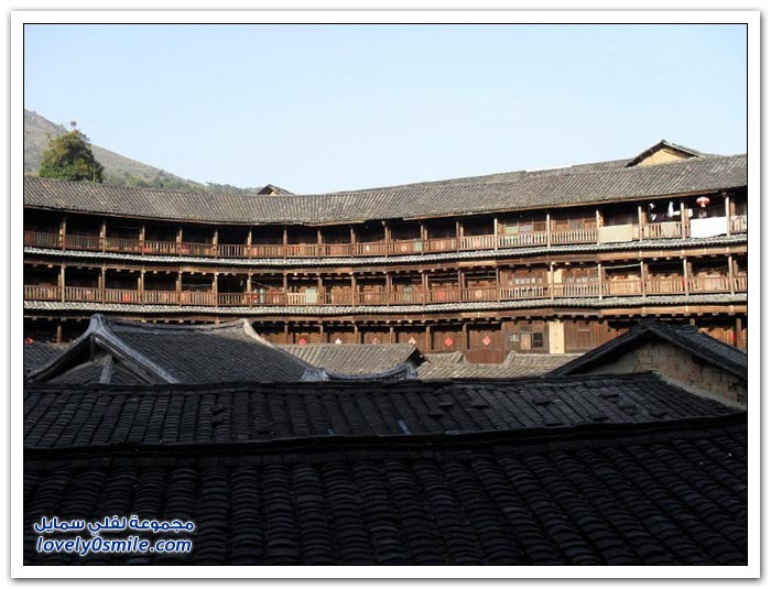 فوجيان تولو قلاع الطين الأثرية في الصين