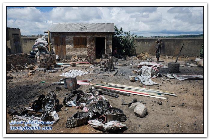 صناعة الأواني في مدغشقر